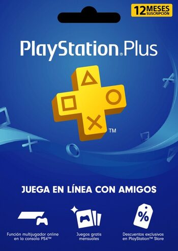 PlayStation Plus Card 365 Days (CL) PSN Key CHILE