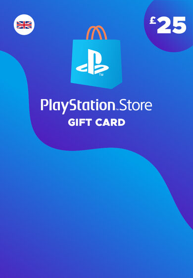 PlayStation Network Card 25 GBP (UK) PSN Key UNITED KINGDOM