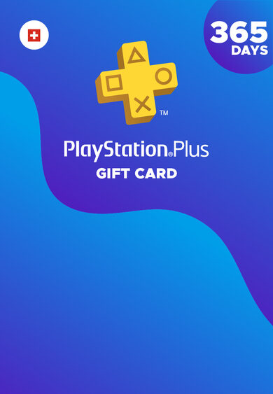 PlayStation Plus Card 365 Days (CH) PSN Key SWITZERLAND