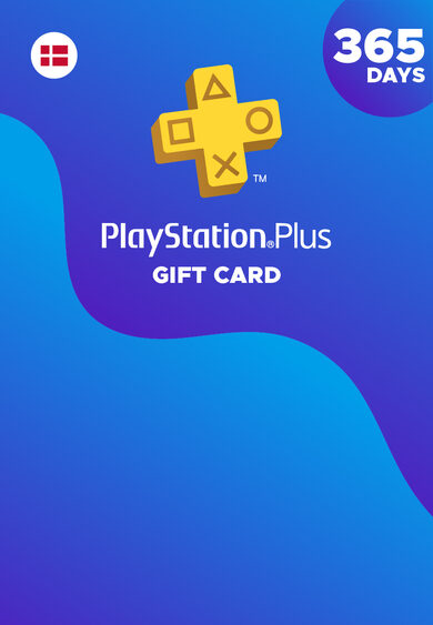 Playstation Plus Card 365 days (DK) PSN Key DENMARK