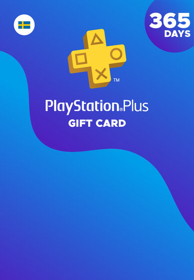 PlayStation Plus Card 365 Days (SE) PSN Key SWEDEN
