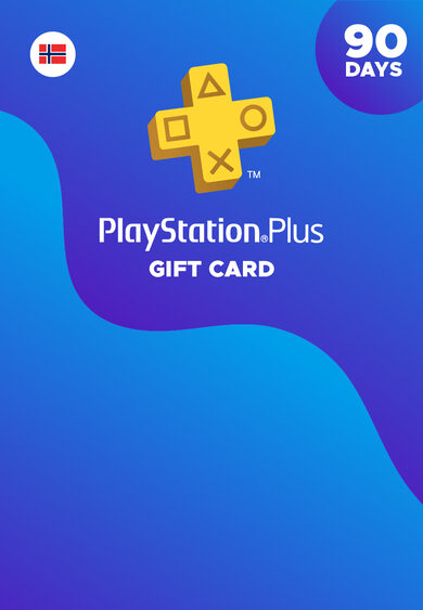 Playstation Plus Card 90 days (NO) PSN Key NORWAY