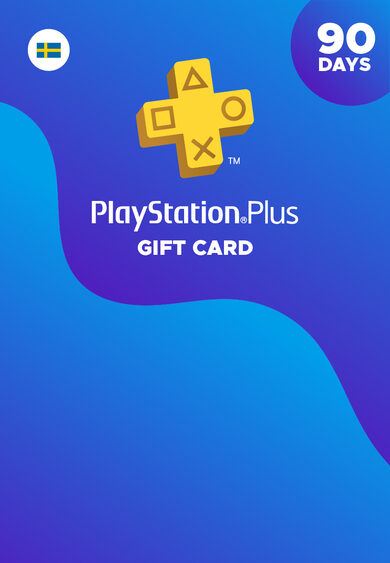 PlayStation Plus Card 90 Days (SE) PSN Key SWEDEN