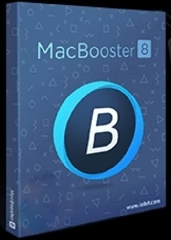 Iobit MacBooster 8 PRO 1 Year, 3 Device Licence Iobit Key GLOBAL