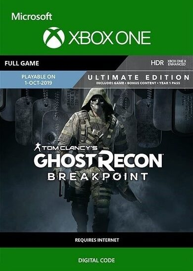 Tom Clancy's Ghost Recon: Breakpoint (Ultimate Edition) (Xbox One) Xbox Live Key GLOBAL