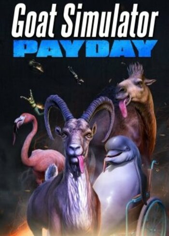 Goat Simulator: PAYDAY (DLC) Steam Key GLOBAL