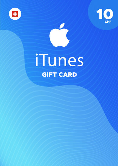 Apple iTunes Gift Card 10 CHF iTunes Key SWITZERLAND