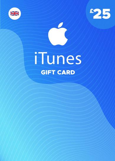 Apple iTunes Gift Card 25 GBP iTunes Key UNITED KINGDOM