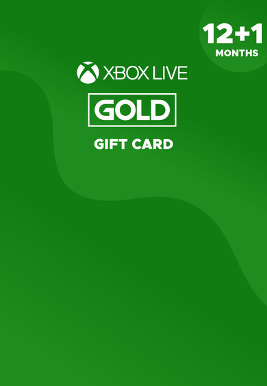 Xbox Live Gold 12+1 month Xbox Live Key GLOBAL