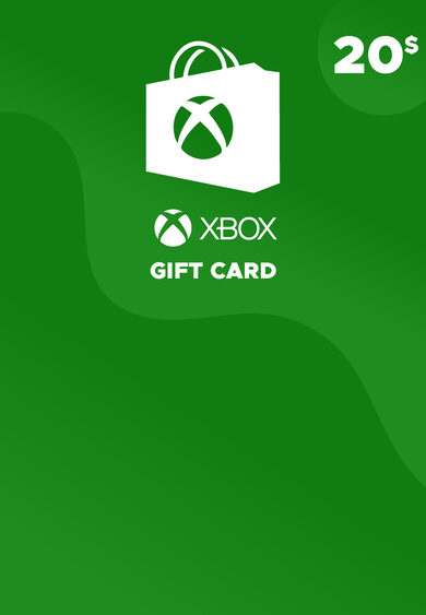 Xbox Live Gift Card 20 USD Xbox Live Key NORTH AMERICA