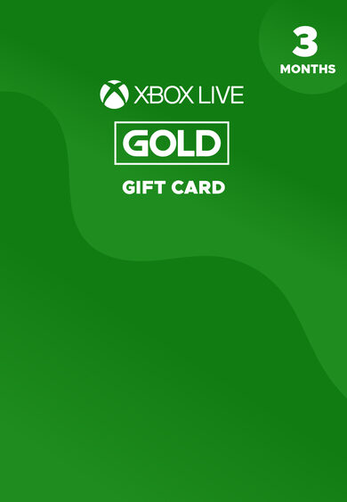 Xbox Live Gold 3 months Xbox Live Key GLOBAL