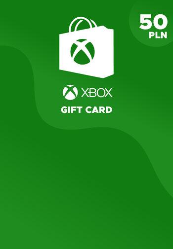Xbox Live Gift Card 50 PLN Xbox Live Key POLAND