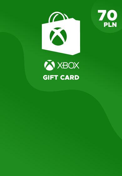 Xbox Live Gift Card 70 PLN Xbox Live Key POLAND