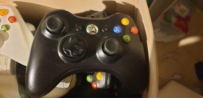 Xbox360 pultas be defektu. Testuotas
