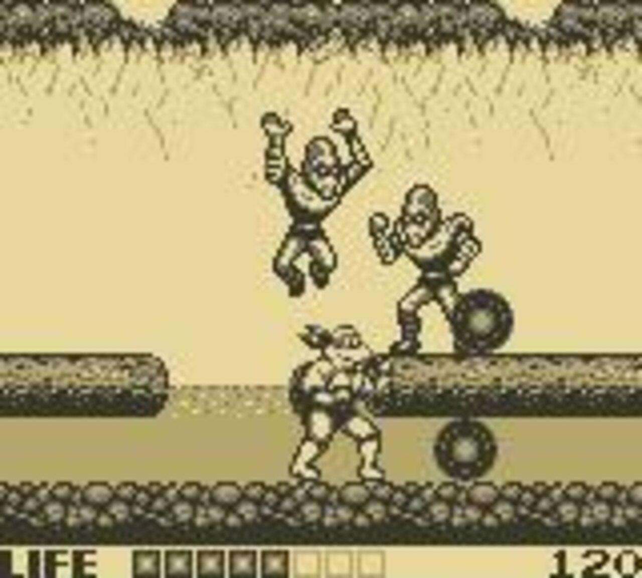 Teenage Mutant Ninja Turtles: Fall of the Foot Clan Game Boy