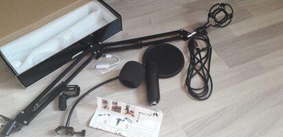 Microphone plus perche