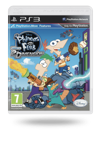 Phineas and Ferb: Across the Second Dimension PlayStation 3
