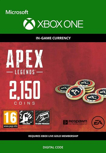 Apex Legends 2150 Apex Coins (XBOX ONE) XBOX LIVE Key GLOBAL