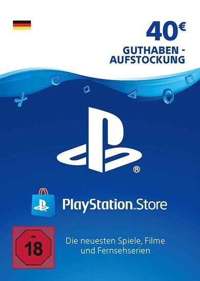 PlayStation Network Card 40 EUR (DE) PSN Key GERMANY