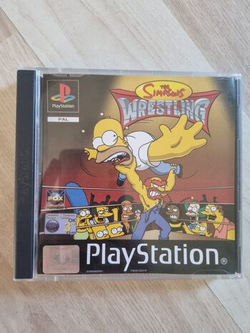The Simpsons Wrestling PlayStation
