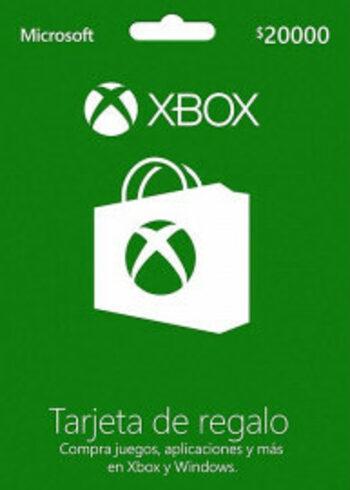 Xbox Live Gift Card 20.000 CLP Xbox Live Key CHILE