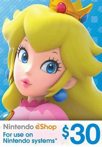Nintendo eShop Card 30 CAD Key CANADA