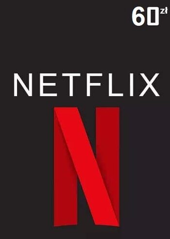 Netflix Gift Card 60 PLN Key POLAND