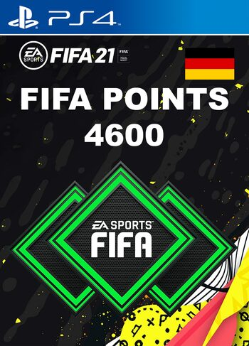 FIFA 21 - 4600 FUT Points (PS4) PSN Key GERMANY