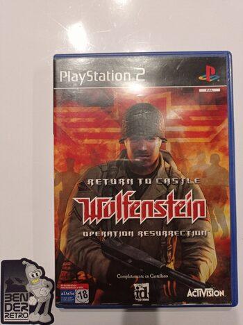 Return to Castle Wolfenstein Operation Resurrection PlayStation 2
