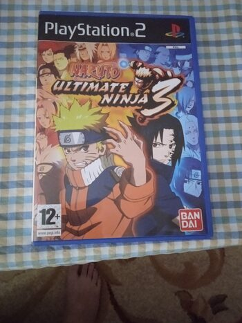 Naruto: Ultimate Ninja 3 PlayStation 2