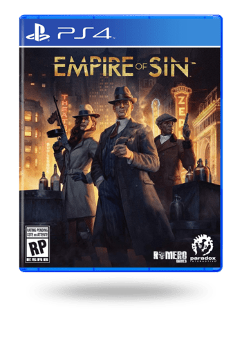 Empire of Sin PlayStation 4