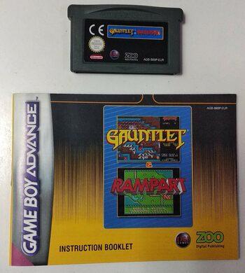 Gauntlet & Rampart Game Boy Advance