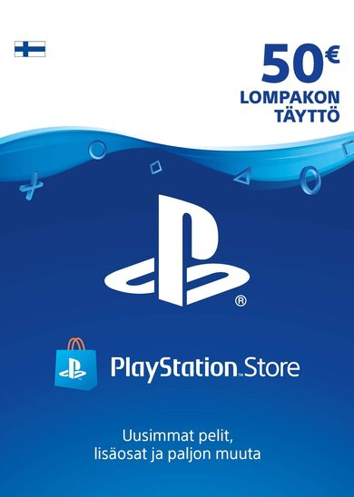 Playstation Network Card 50 EUR (FIN) PSN Key FINLAND