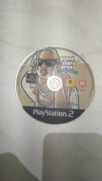 Grand Theft Auto: San Andreas PlayStation 2