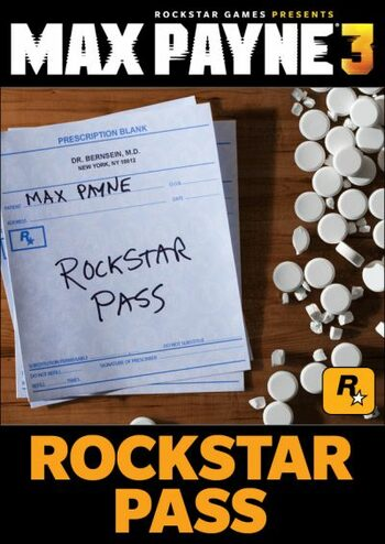 Max Payne 3 - Rockstar Pass (DLC) Steam Key GLOBAL