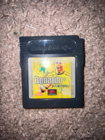 Ronaldo V-Football Game Boy Color