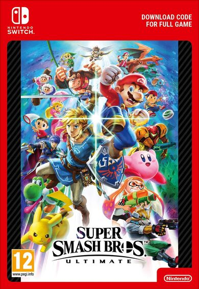 Super Smash Bros. Ultimate (Nintendo Switch) eShop Clave EUROPA