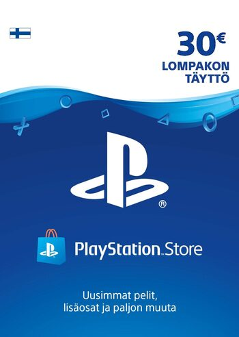 Playstation Network Card 30 EUR (FIN) PSN Key FINLAND