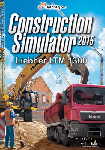 Construction Simulator 2015: Liebherr LTM 1300 6.2 (DLC) Steam Key GLOBAL
