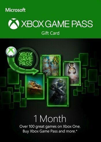 Xbox Game Pass 1 mese Xbox Live Key GLOBAL
