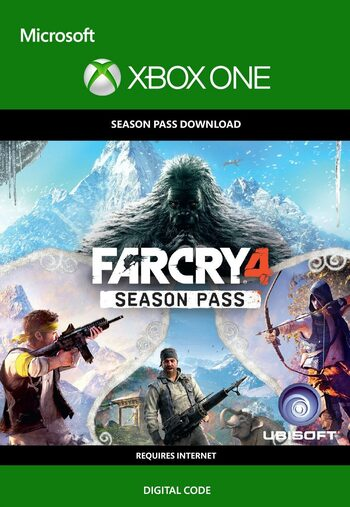 Buy Far Cry 4 Season Pass Dlc Xbox One Xbox Live Key Europe Eneba