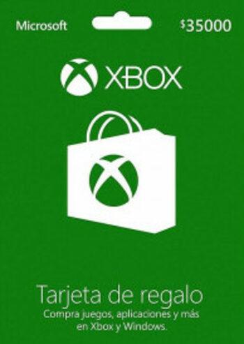 Xbox Live Gift Card 35.000 CLP Xbox Live Key CHILE