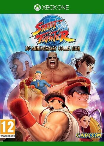 Street Fighter 30th Anniversary Collection XBOX LIVE Key GLOBAL