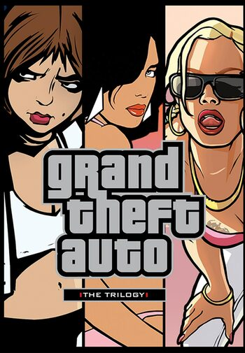 Grand Theft Auto Trilogy Pack Steam Key EUROPE