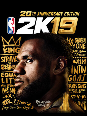 NBA 2k19 (20th Anniversary Edition) Steam Key EUROPE