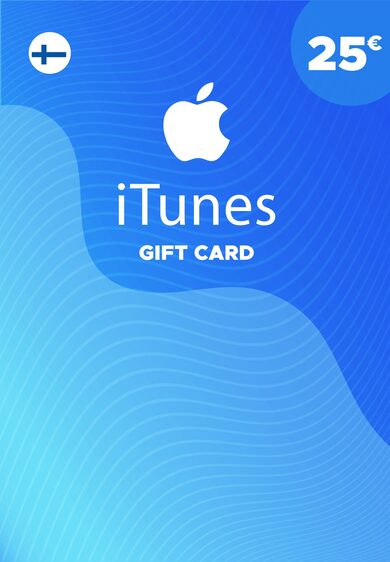 Apple iTunes Gift Card 25 EUR iTunes Key FINLAND