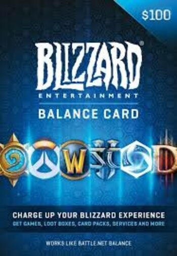Battle.net Gift Card 100 USD Battle.net Key NORTH AMERICA