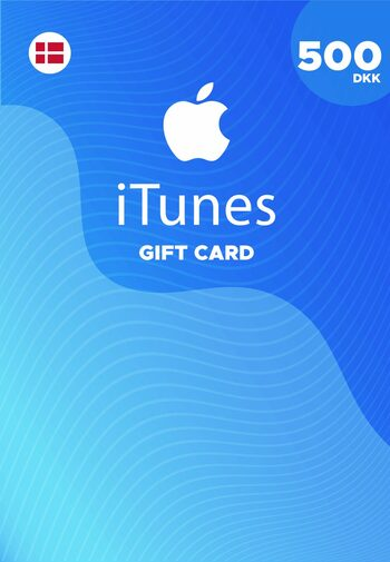 Apple iTunes Gift Card 500 DKK iTunes Key DENMARK