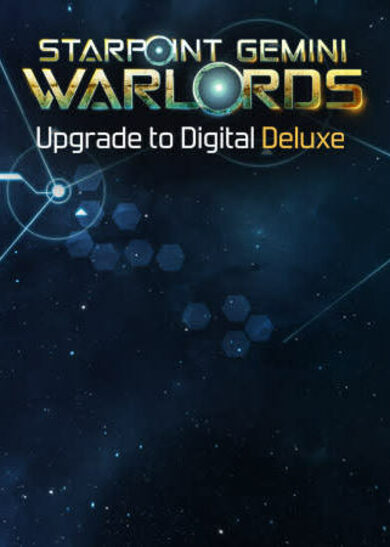 Starpoint Gemini Warlords - Upgrade to Digital Deluxe (DLC) Steam Key EUROPE