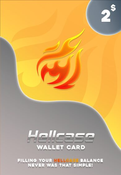Hellcase.com Wallet Card 2 USD Key GLOBAL